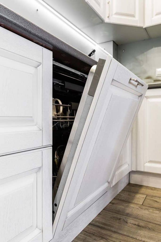 dishwasher leaking under floor