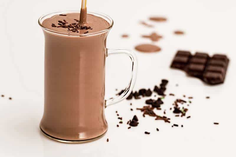 how to make a chocolate milkshake without a blender and ice cream