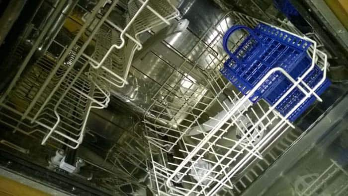 run the empty dishwasher