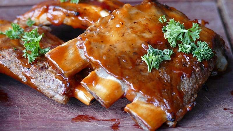 how to reheat ribs in oven