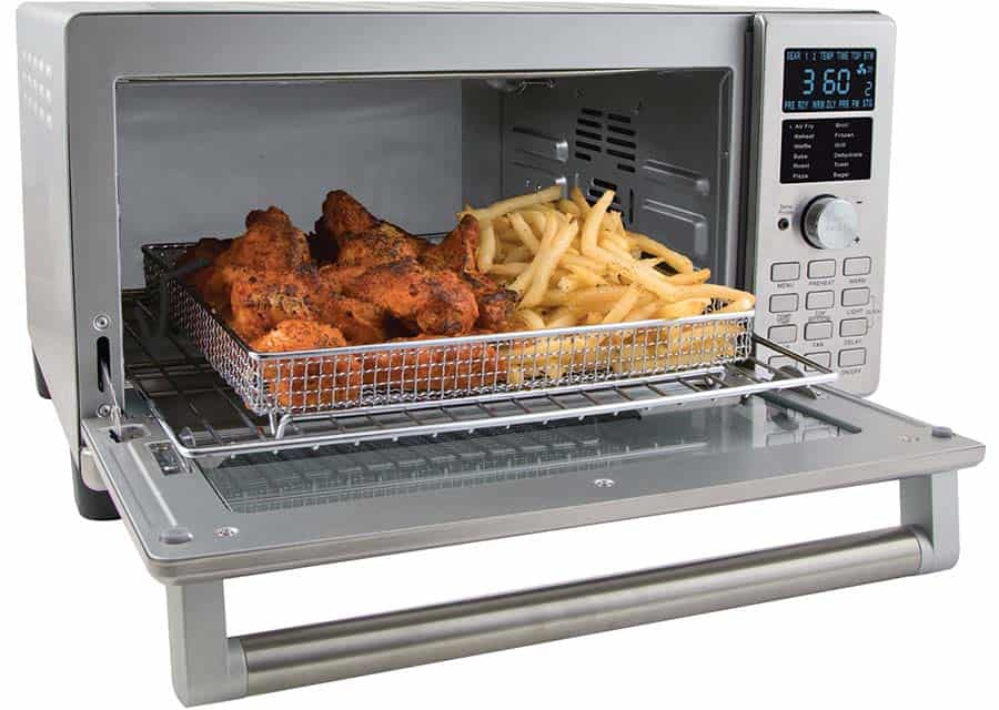 nuwave bravo smart air fryer toaster oven review