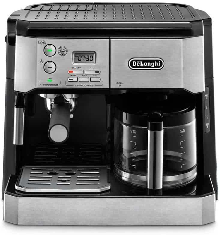 delonghi combination coffee and espresso machine reviews