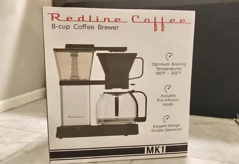 redline coffee maker review